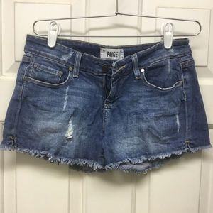 PAIGE CutOff Shorts/ size 26